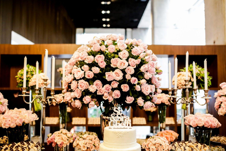 decoração-rosas