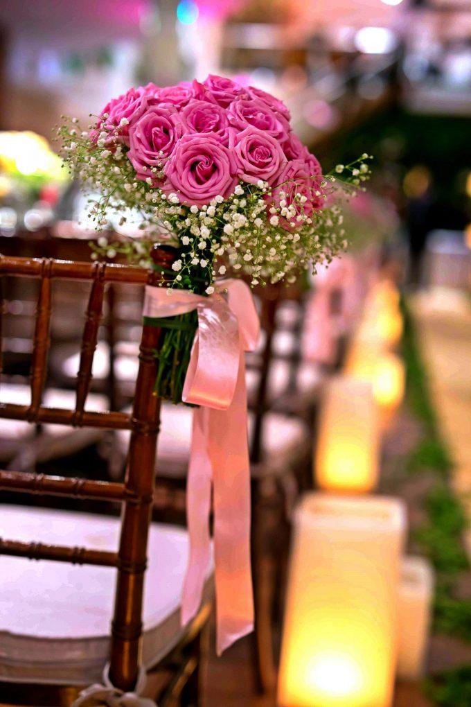 decoração-rosa-detalhes
