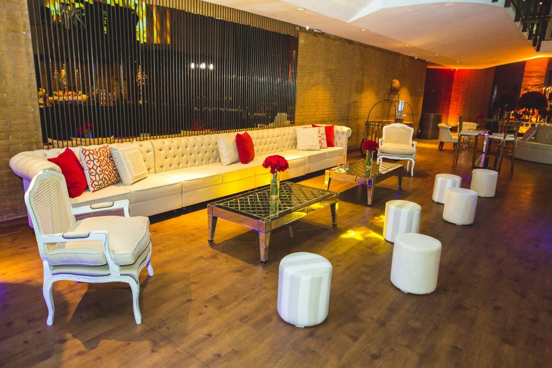 lounge para festa