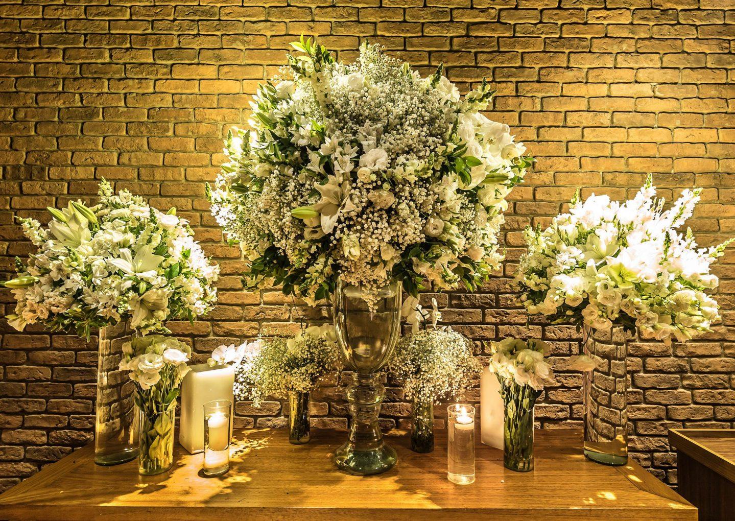 13ee778c72 Decoração de Casamento  o clássico verde e branco