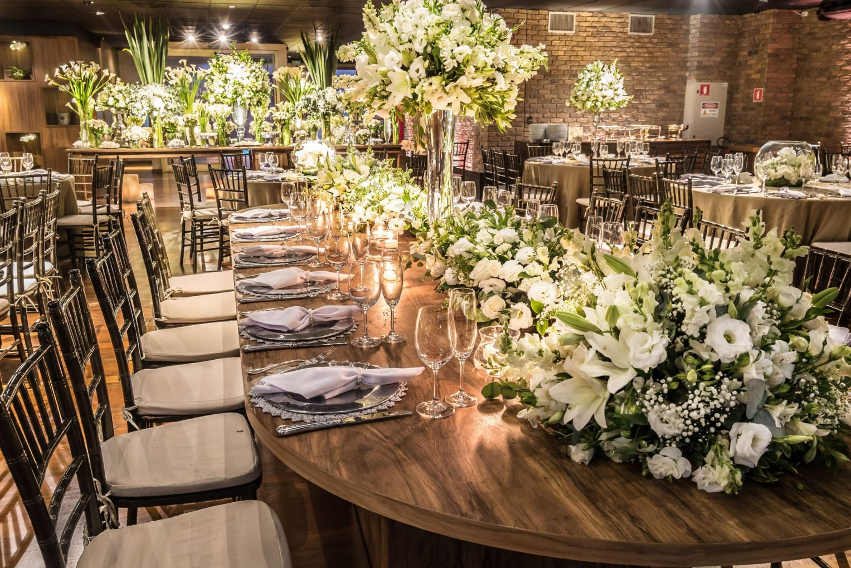 mesa banquete foto inteira