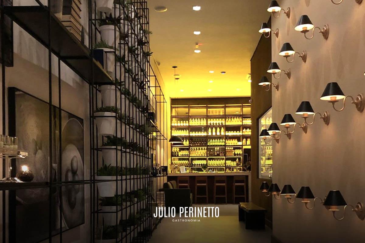 Espaço exclusivo para clientes degustarem a gastronomia do Chef