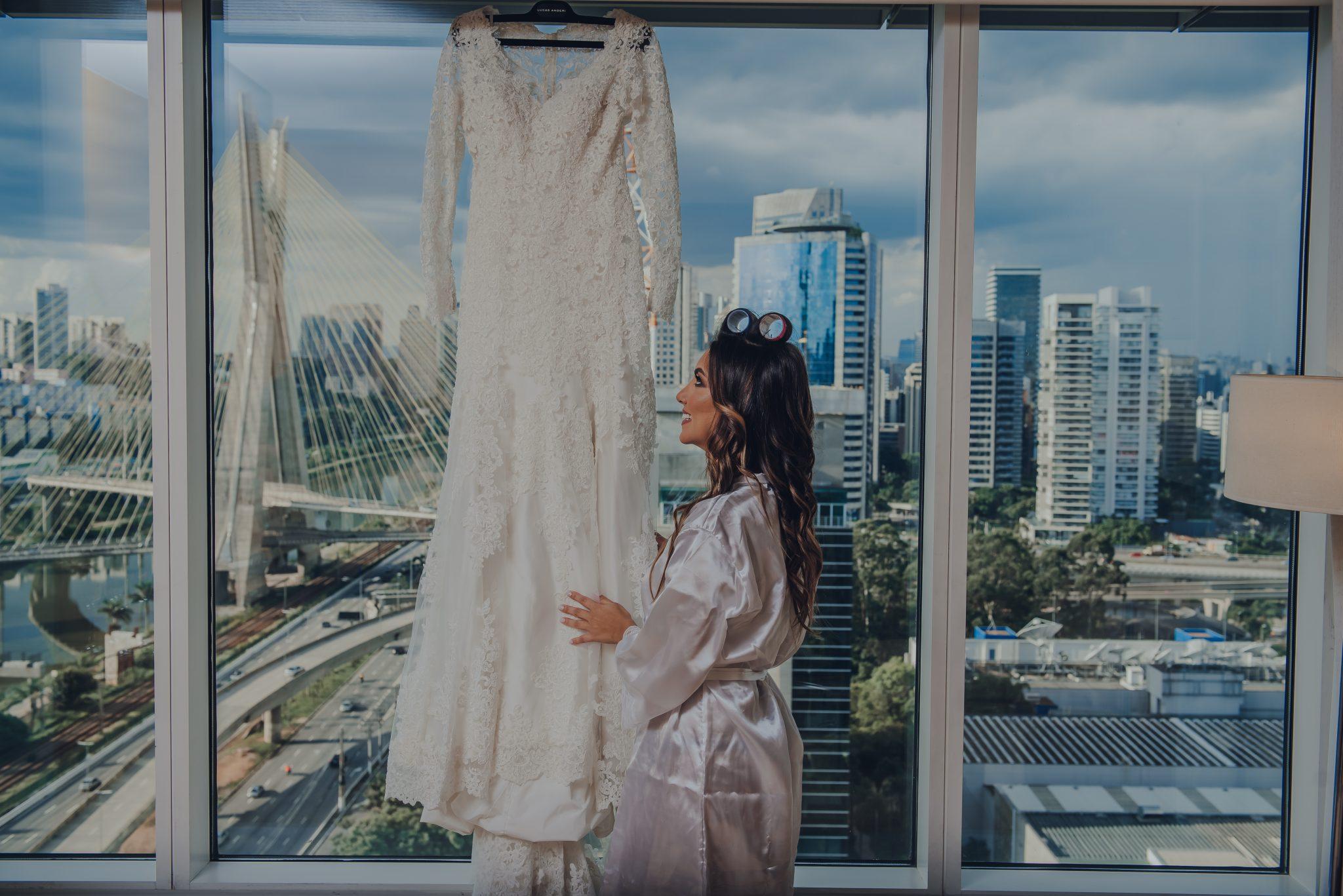 Vestido de noiva: branco ou off white?