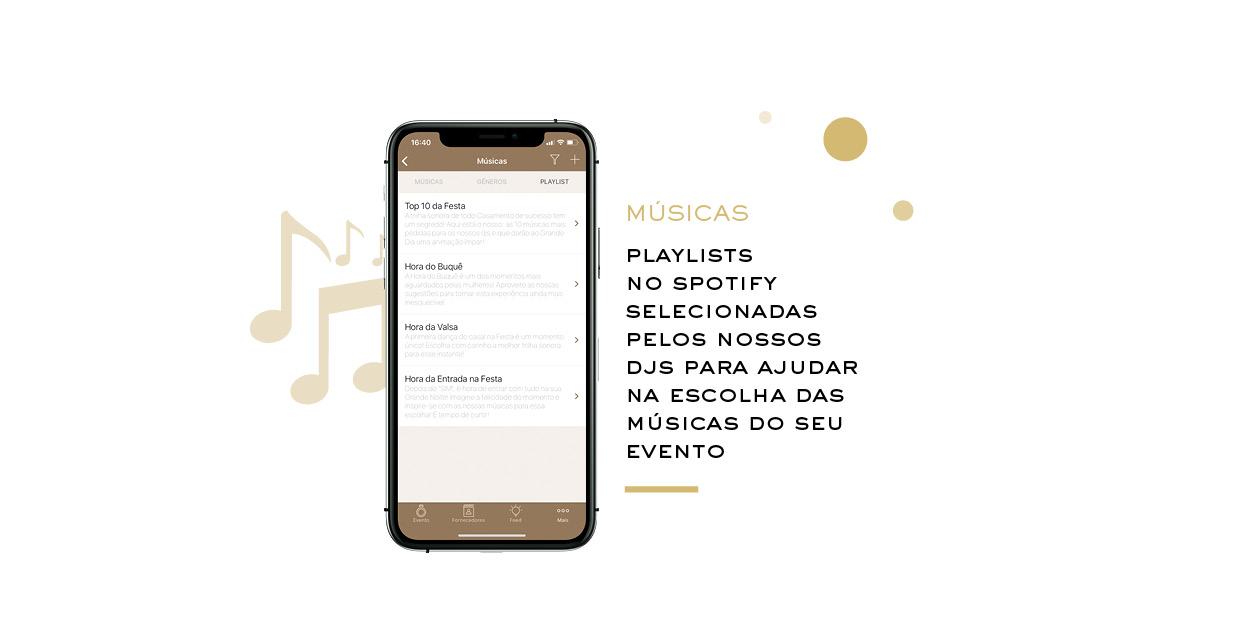 Playlists no Spotfy