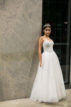 vestido branco para debutante