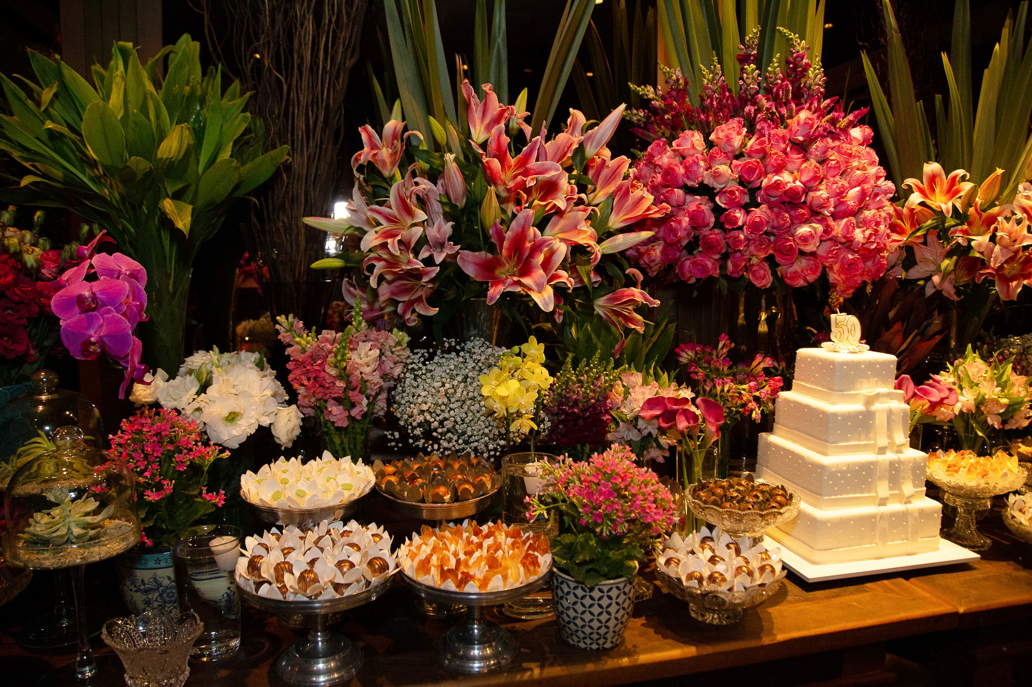 doces para festa