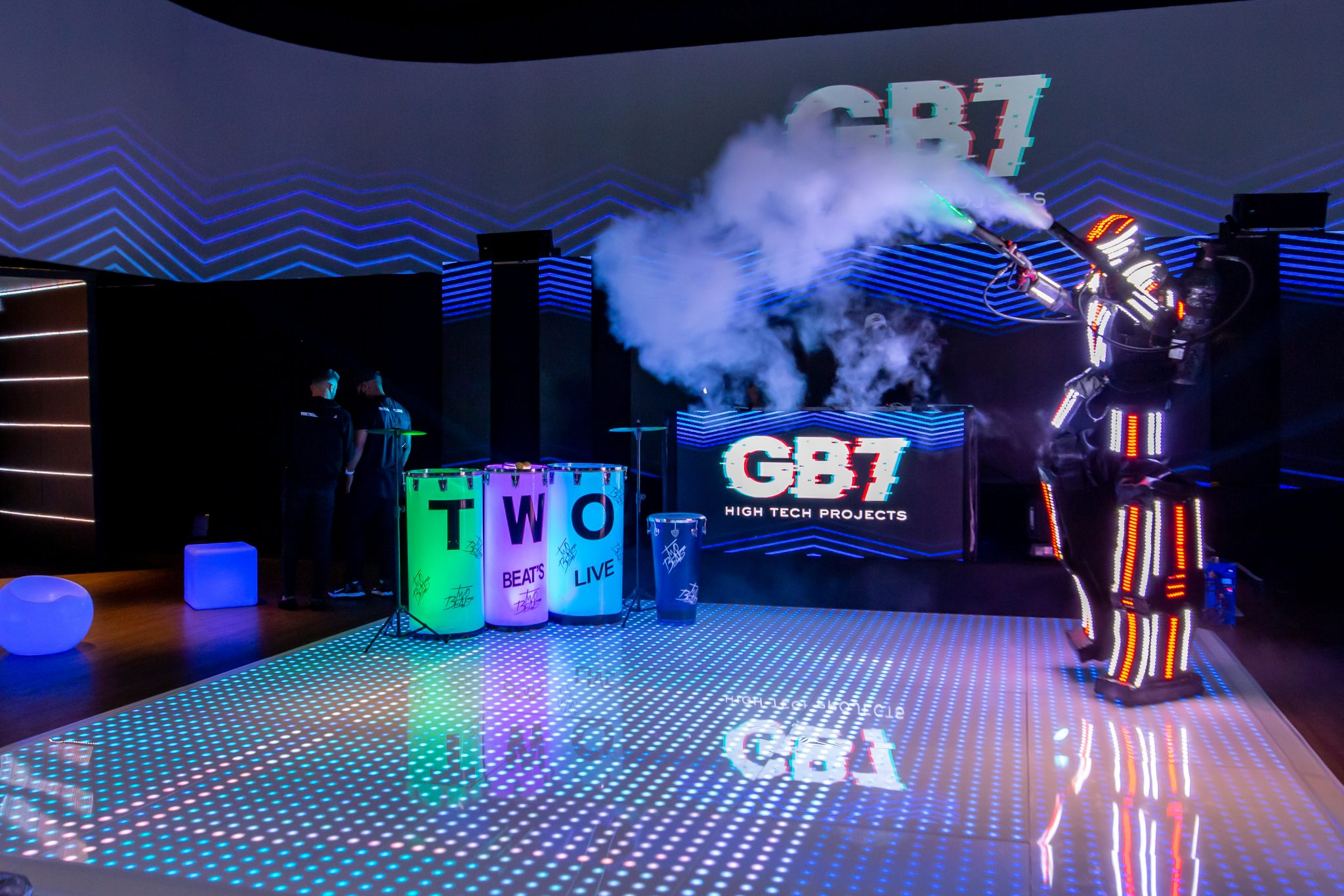 GB7: Ainda mais interatividade para sua festa